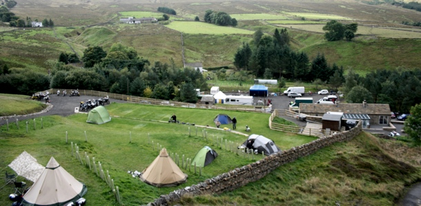 Campsite at Adventure Weekend