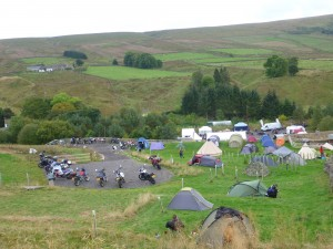 The tiered campsite